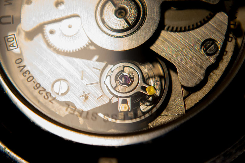 Automatic watch Movement Watch Automatic EyeEm Selects Machine Part Full Frame Time Gear Close-up Clockworks Indoors  Clock
