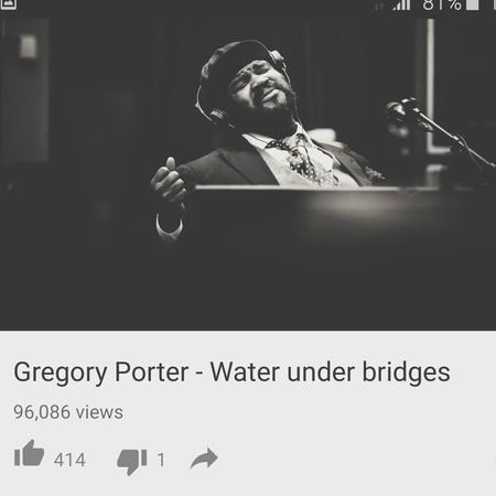 Gregory Porter...i have been listening to his music for awhile now..love his voice .Check this out ^_^ Getting Inspired Music What I Am Listening To The Calmness Within What Makes You Calm Great Musicians Check This Out Gregoryporter