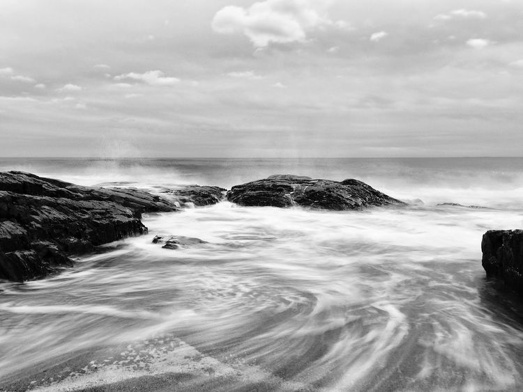 Beach IPSWebsite Waves Black & White Black And White Beachphotography Ocean Water_collection Long Exposure IPSBlackWhite