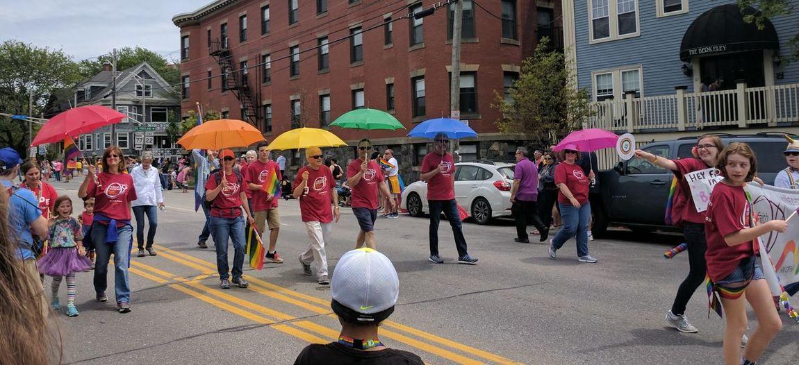 its raining rainbows Rainbow🌈 Pride Flag Celebrate Love Pride Parade Love Everyone Beautiful EyeEmNewHere Love Is Love