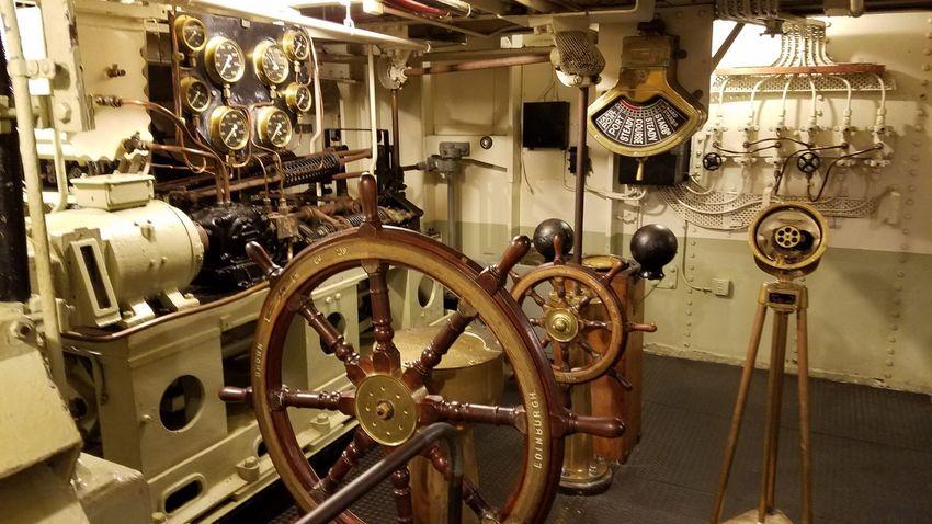 Ship Helm Steering Wheel Boat Nautical Queen Mary Nautical Equipment Historic Ship Navigational Equipment