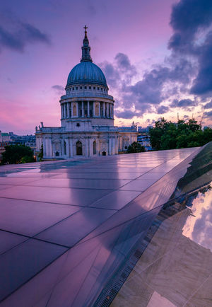 St Paul's Cathedral St Paul's Cathedral St Pauls Cathedral Architecture Building Exterior Built Structure City Cloud - Sky Day Dome No People Outdoors Place Of Worship Religion Sky Spirituality Sunset Travel Destinations