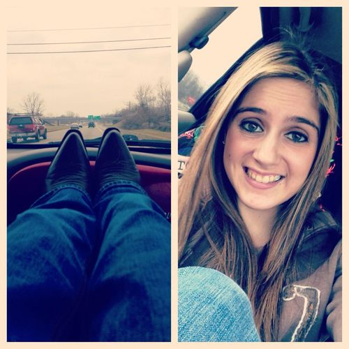 Driving with Brandi lee :)