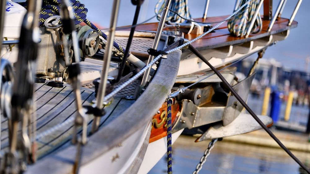 Harbour Bowsprit Close-up Day Nautical Vessel No People Outdoors Rope Sailing Ship Travel Destinations