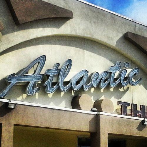 Atlantic Theater -Atlantic Beach Florida Cinematreasures Neonorgy Neonporn AtlanticBeach signgeeks signporn retroneonsign rous_roadsigns Jacksonville