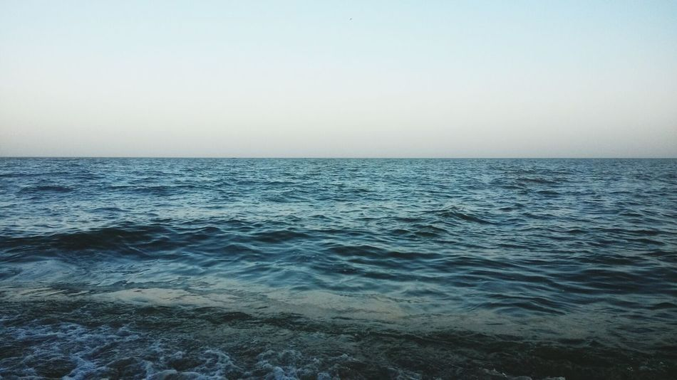 Relaxing Sea And Sky Cool Wonderful