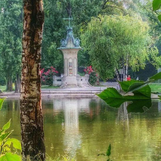 A Stroll thru Stadtpark Summer Evening relax