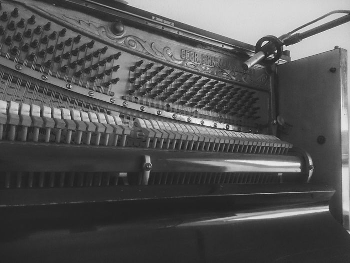 BrianArlt No People Indoors  Mobilephotography Mobile Photography Black And White B&W Portrait Music Music Brings Us Together Musical Instruments Musician Piano Piano🎶 Recording Microphone TakeoverMusic