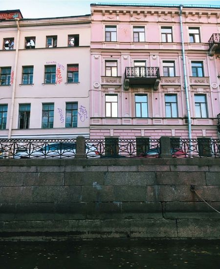 🍥Pastel Saint Petersburg🍥 Building Exterior Architecture Window St. Petersburg, Russia Hello Internet Enjoying Life ♥ Peace ✌ Travel BestofEyeEm Travel Destinations EyeEm Best Shots Cultures Aesthetics Indie Alternative Creativity Hello World ArtWork City Traveling Be Unique  Art