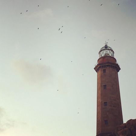 Faro Lighthouse Leuchtturm Farovilan Sunset Architecture First Eyeem Photo
