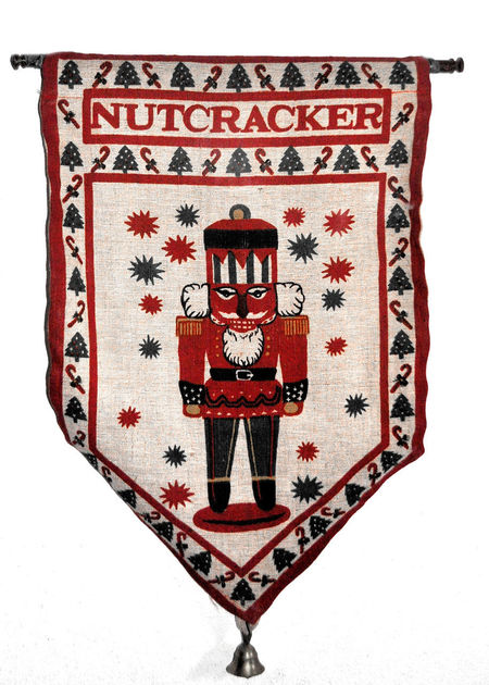 Merry Christmas! Christmas Nutcracker Splash Of Color Wall Hanging Banner Close-up Cultures Day Merry Christmas Multi Colored No People Pattern Red Single Object Studio Shot White Background