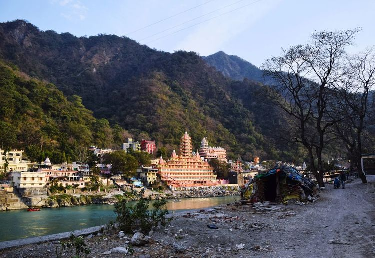 Rishikesh2018 Rishikeshtrip Rishikesh Rishikesh_photography Beautiful Ganga Tree Mountain Ancient Civilization Ancient Water History Spirituality