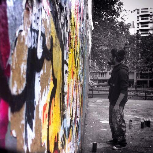 Street Art, Paris IPhoneography Mobileart