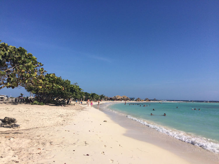 Aruba Aruba One Happy Island Aruba Beach Baby Beach Beach Carribean Sand Sea