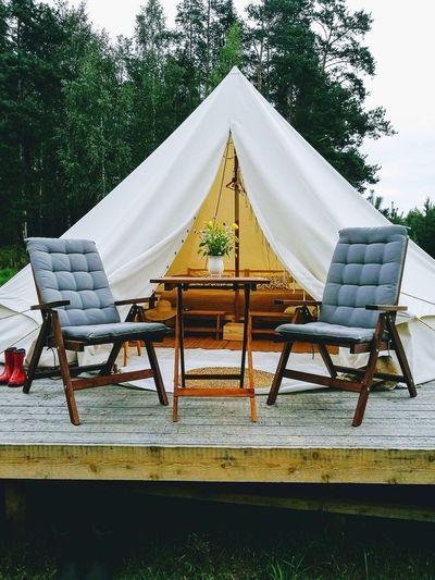 Outdoors Glamping Tent Camping Glamorous Camping