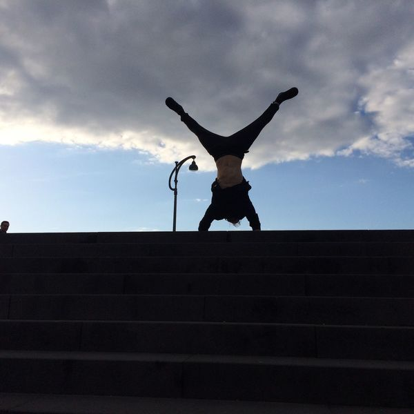 Handstand  Lebensfreude Updide Down Parcours Sport In The City Sport Sports Photography