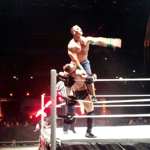 John Cena: still one of the most loved by fans Wwe Raw Milan 2012