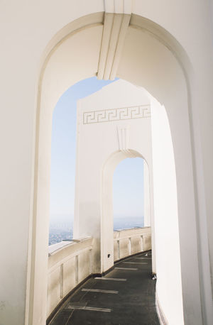Architecture Griffith Observatory Los Angeles, California Arch Architecture Built Structure Day La No People Outdoors California Dreamin
