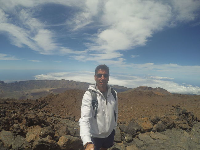 This Is Masculinity That's Me Hello World Relaxing Trekking Nature Love Vacation Time Thats Me  Trekking Summer ☀ Sport Camera Xiaomi Yi Beautiful Nature Volcano Volcanic Island Volcano Crater Teide National Park Teide