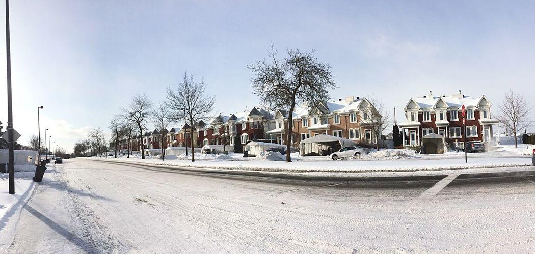 Hello World Winter Canada IPhoneography Snow Montréal