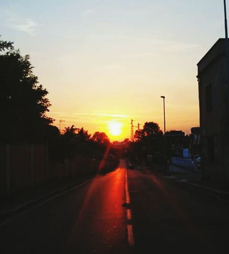 Sunrise Infrared Photo Infrared Sky Streetphotography Street Light