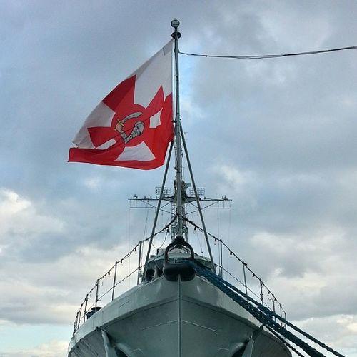 Nofilter Gdynia Warship Battleship błyskawica hull cloudy sunday