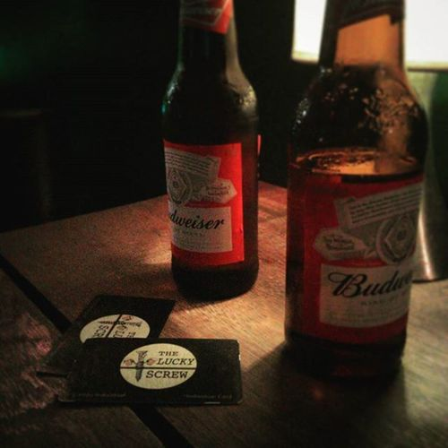 Night out! Copacabana Budweiser Rio Theluckyscrewirishpub Antigocloveririshpub