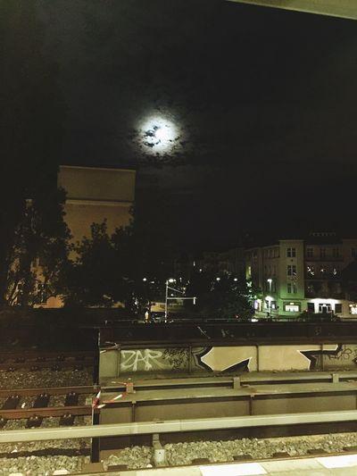 Shimmering Berlin Moon