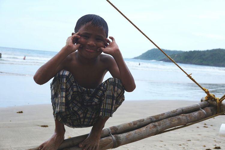 Playful boy Telling Stories Differently Boy Playing With Water Kids Life Childs Perspective Life At Sea Check This Out Asian Kid Pastel Surfer Boy