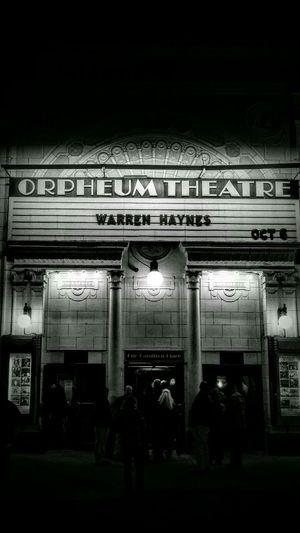 Warren Haynes Orpheum Orpheumtheatre Theorpheum Music Boston Boston, Massachusetts Boston, Ma Nightlife Night