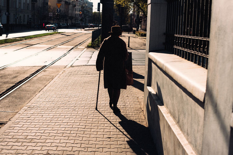 Warsaw in Spring The Week on EyeEm Light And Shadow Capture The Moment The Art of Street Photography Nikonphotography Nikon D750 Spring Traveling Daily Life One Person Architecture Walking Shadow Footpath Rear View Real People Built Structure Full Length Sunlight Lifestyles City Building Exterior Sidewalk Day Nature Street Leisure Activity Outdoors Paving Stone