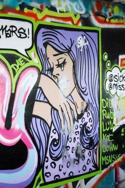 Girl crying. . . .(Abandoned Miami Marine Stadium Key Biscayne, FL)