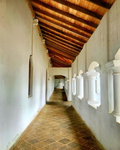 Hallway Stupa Indoors  Corridor The Way Forward Architecture No People Built Structure Day
