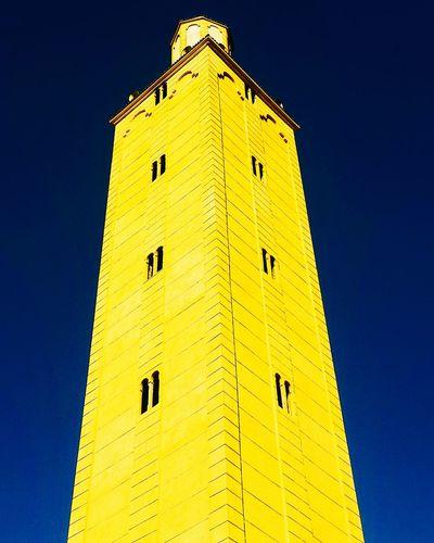 Yellow Beautiful Dream Salah Morocco Faith Architecture No People Sky Masjed صوره صومعه؛ مغرب مغربي راقت_لي من_تصويري مسجد Africa History Cloud - Sky Arch Built Structure Outdoors Filó سماء