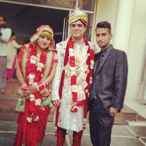 Mere_pyari_behna ..... Di_JIJU Happy_married_life God_bless_COUPLE