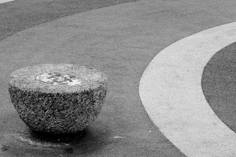 Hemisphere and Curves Black & White Curves Blackandwhite Brighton Seafront Day Geometry Hemisphere No People Outdoors