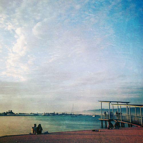 In front of the sea... NEM GoodKarma NEM Painterly NEM Landscapes NEM Clouds