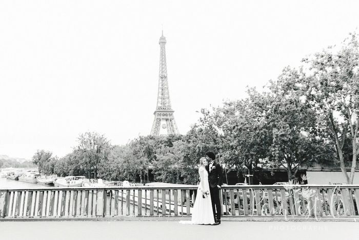 Wedding Wedding Photography Paris Blackandwhite Bride Groom