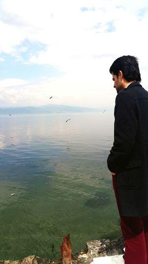 Deniz çok sakin
