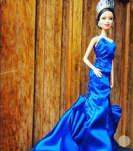 So cute! Want to have one of these... @piawurtzbach doll... Msuniverse2015 😊❤👑