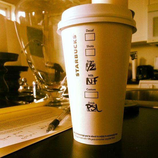 They're baaaaaaack.... :) Starbucks Psl Fall