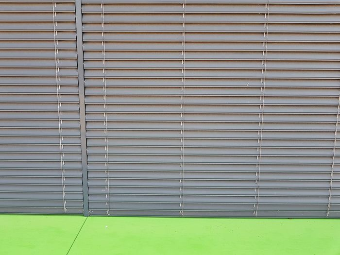 Corrugated Iron Pattern Shutter Protection Industry Close-up
