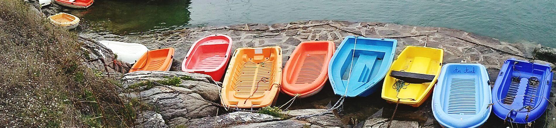 Small coloured boats Sea France Mare Francia Sea_collection Mare ❤ Mare E Sole Piriac-sur-mer Mer Boat Boats Boats⛵️ Barchetta