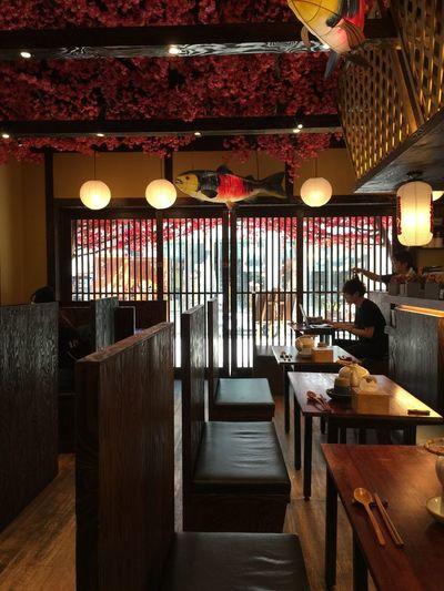 Ceiling Food And Drink Illuminated Indoors  Light Lighting Equipment Restaurant Wood - Material