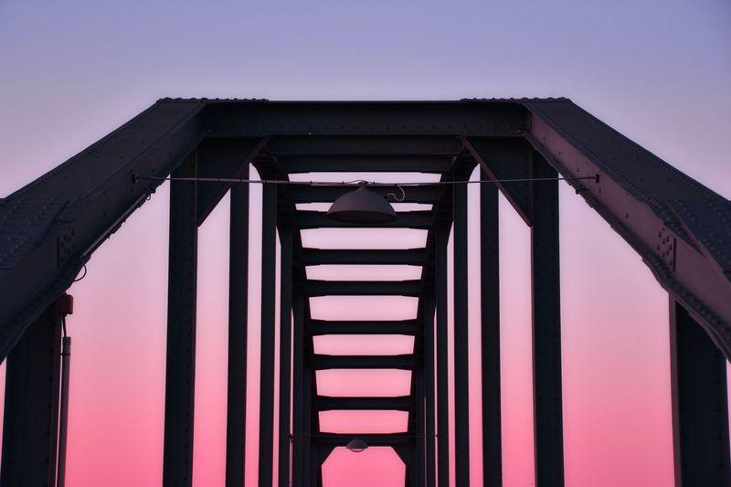 Low angle view of bridge