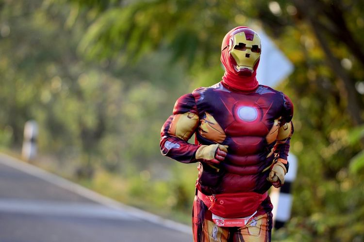 Surin half marathon 2019 nikon d610 af-s 300mm f4d ironman fancy Iron Man Focus On Foreground Helmet Standing One Person Three Quarter Length Outdoors Fancy Human Representation Armed Forces Military Government Safety Uniform Security Representation Army Soldier Clothing Day Transportation Protection Ironman 3 Spiderman Marathon Marathonrunner Superheros To The Rescue Super Super Hero