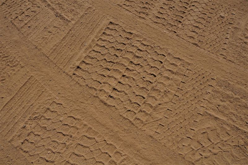 Serbia Backgrounds Day Full Frame No People Pattern Sand Textured  Traces Traces In The Sand