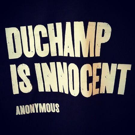 Duchamp is innocent.