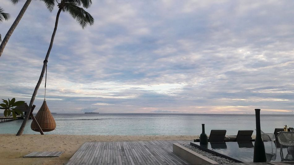HelloworldDecember vacation. Clouds And Sky Maldives Relaxing Cloudy Skies Setting Sun Magoodhoo Original Experiences Seaside Sea Sea And Sky Seascape Beach Holiday Bluesea Scenery Naturelovers Naturephotography Enjoying Life Natural Beauty EyeEm Nature Lover Nature_collection Nature Photography