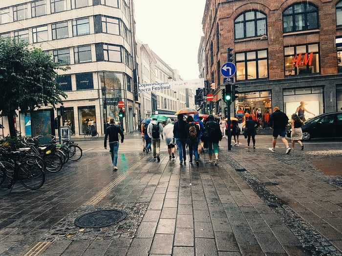 On the way to Tivoli. Copenhagen Streets Rainy Urban First Eyeem Photo